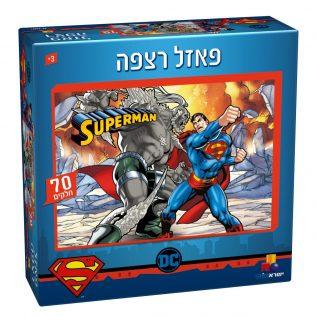 פאזל רצפה סופרמן – 70 חלקים
