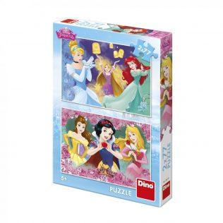 2 פאזלים בקופסה דיסני נסיכות