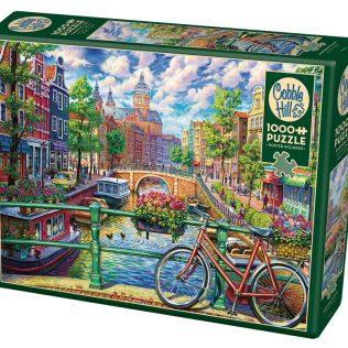 פאזל תעלת אמסטרדם